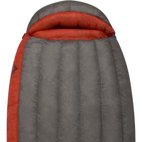 Sea to Summit Flame FmIV Sleeping Bag regular Damen dark grey/paprika